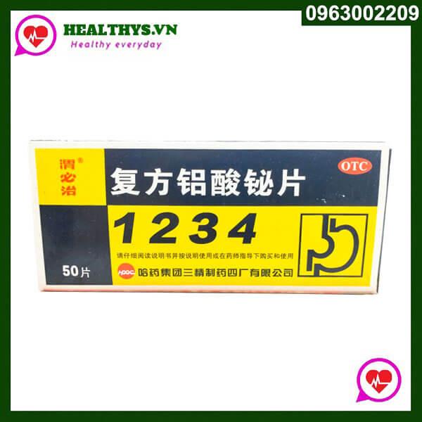 Thuốc dạ dày 1234 nội địa Trung Quốc