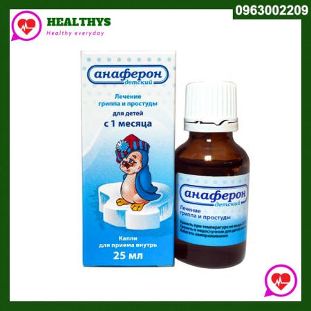 Anaferon | Thuốc tăng sức đề kháng Nga dạng Siro
