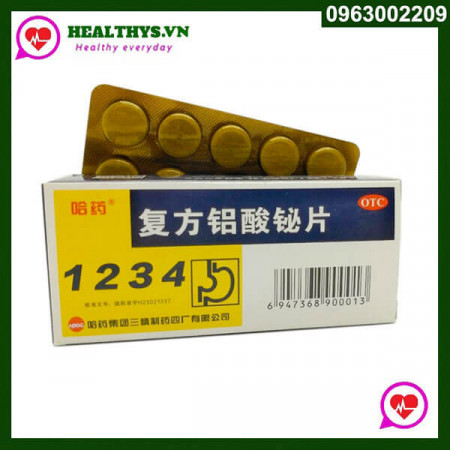 Thuốc Dạ Dày 1234 chính hãng Trung Quốc